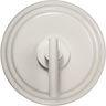 Newport Brass - Matte White Air Activated Disposer Switch without power adapter and PVd tubing
