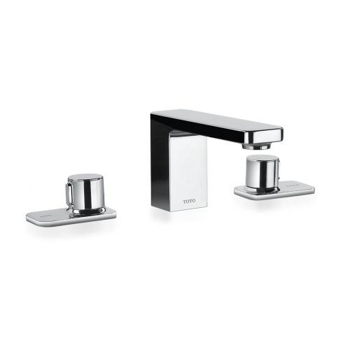 Kiwami® Renesse® Widespread Lavatory Faucet, without Pop-up Drain - Polished Chrome Finish