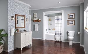 White Elongated Toilet Product Image