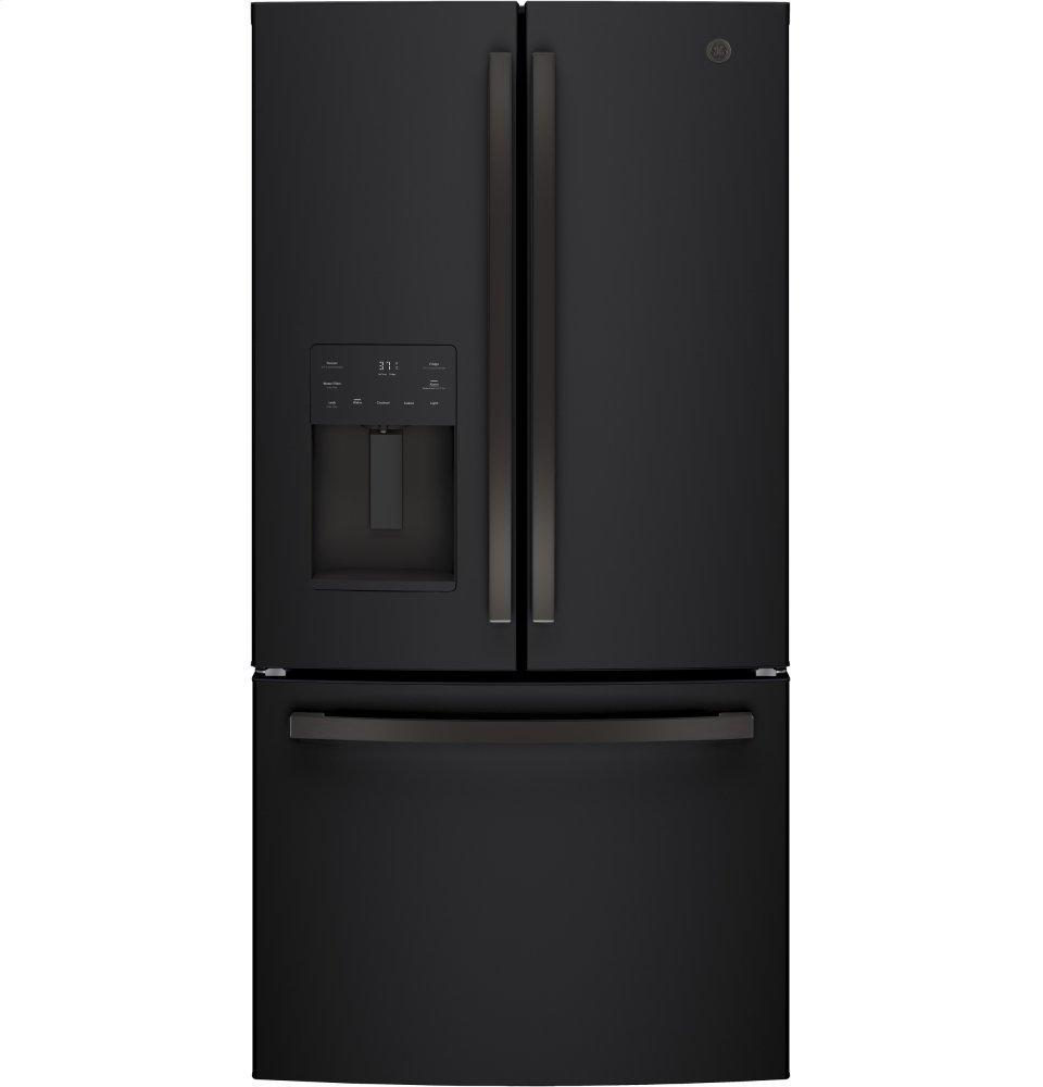 GE®energy Star® 25.6 Cu. Ft. French-Door Refrigerator
