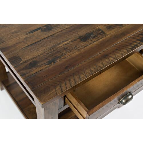 Artisan's Craft End Table - Dakota Oak