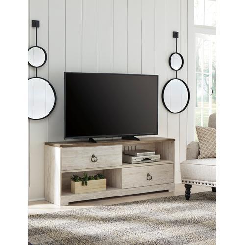 Willowton Large TV Stand Whitewash