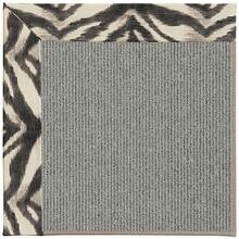 "Creative Concepts Plat Sisal Tigress Zinc - Rectangle - 24"" x 36"""