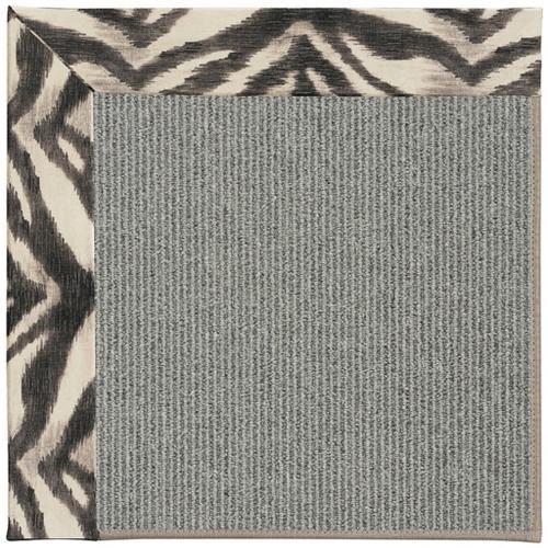 "Creative Concepts Plat Sisal Tigress Zinc - Rectangle - 24"" x 36"""