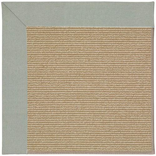 Capel Rugs - Creative Concepts-Sisal Canvas Spa Blue - Rectangle - 10' x 14'