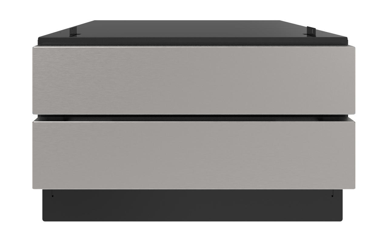 Sharp24 In. Under The Counter Convection Microwave Drawer Oven Pedestal