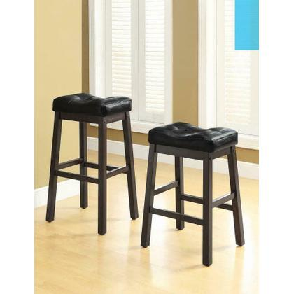 See Details - Transitional Black Counter-height Upholstered Chair