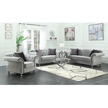 Frostine Grey Three-piece Living Room Set