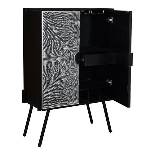 Moe's Home Collection - Sunburst Wine Cabinet