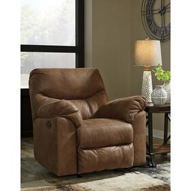 Boxberg Power Rocker Recliner Bark