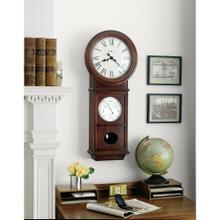Howard Miller Lawyer II Chiming Wall Clock 620249