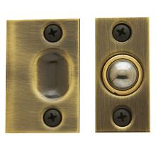 View Product - Satin Brass and Black Adjustable Ball Catch