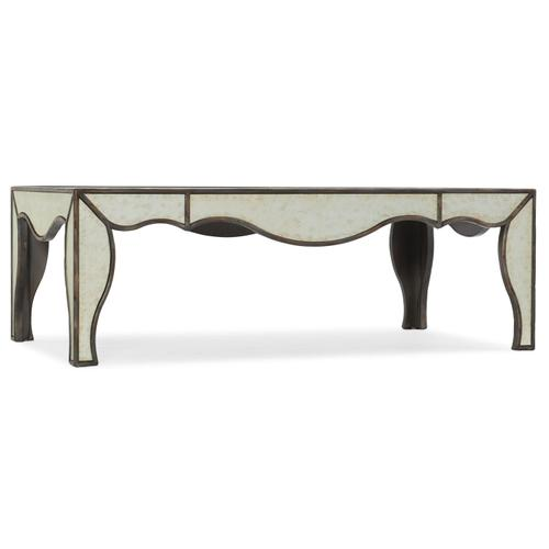 Living Room Arabella Mirrored Cocktail Table