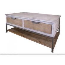See Details - 4 Drawers, Cocktail Table