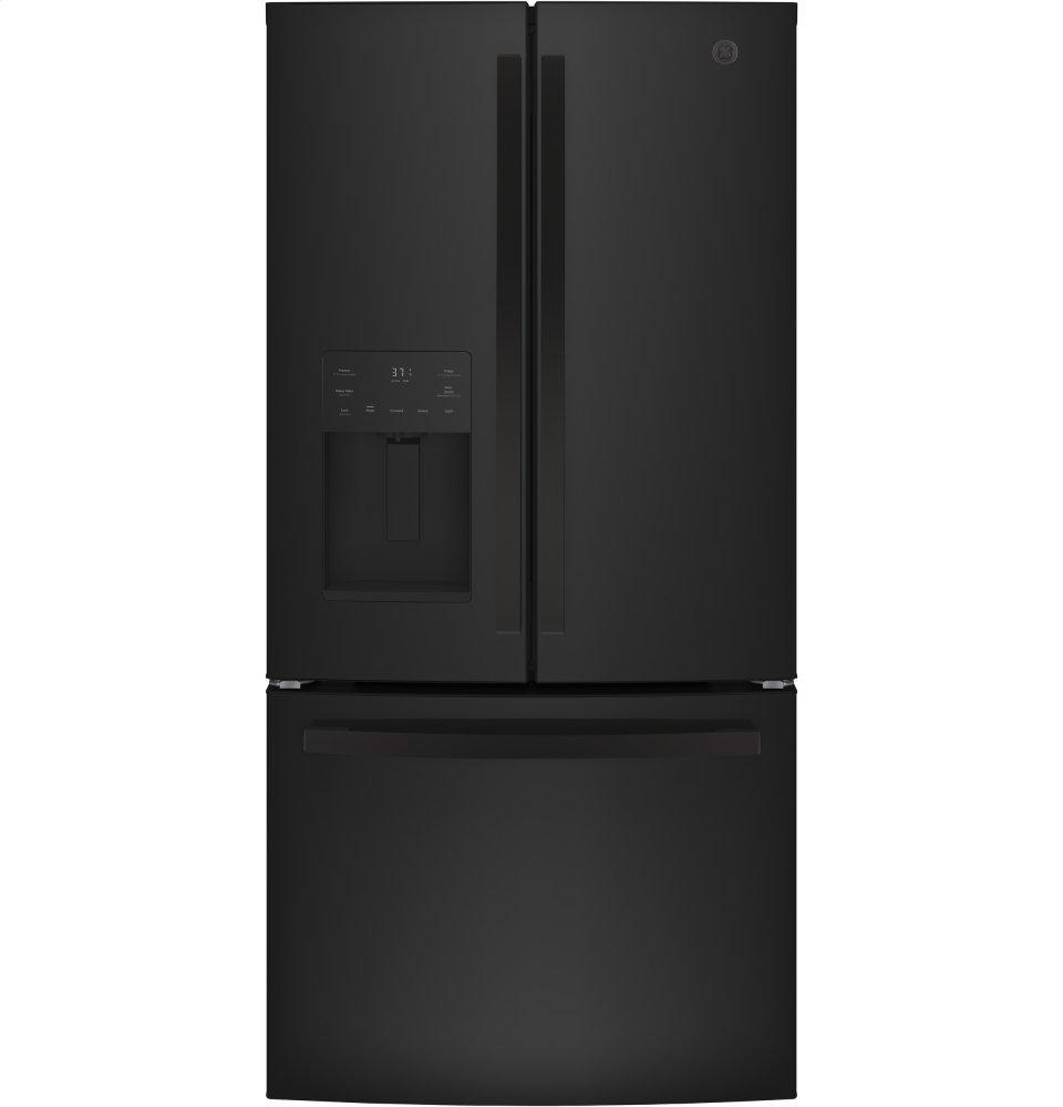 GE®energy Star® 23.6 Cu. Ft. French-Door Refrigerator