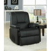 ACME Reseda Recliner w/Power Lift & Massage - 10650 - Black PU Product Image
