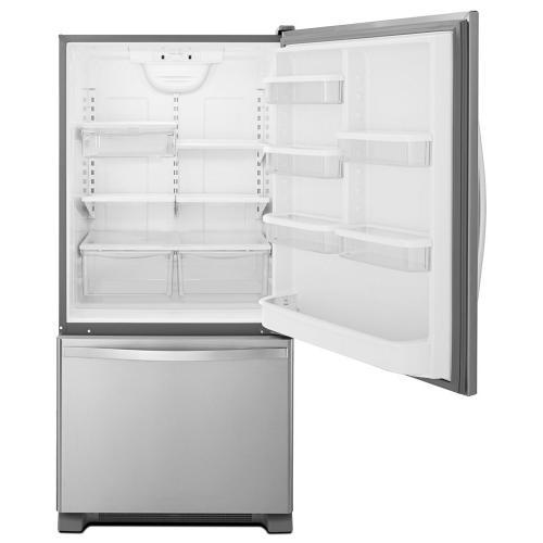 Whirlpool® 22 cu. ft. Bottom-Freezer Refrigerator with Freezer Drawer