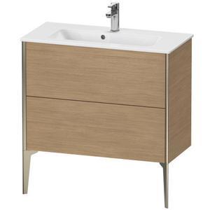 Vanity Unit Floorstanding Compact, European Oak (decor)