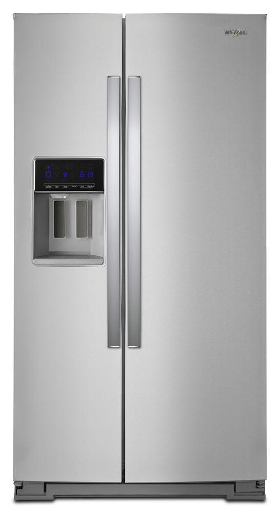 Whirlpool36-Inch Wide Side-By-Side Refrigerator - 28 Cu. Ft.
