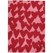 Sweet Treats-Hearts Dark Red