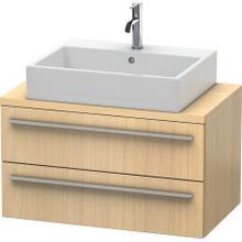 Vanity Unit For Console Compact, Mediterranean Oak (real Wood Veneer)