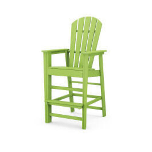 Polywood Furnishings - South Beach Bar Chair in Lime