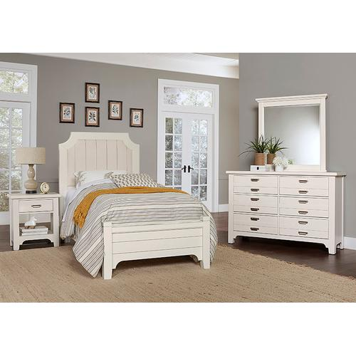 DOUBLE DRESSER - 6 DRAWER