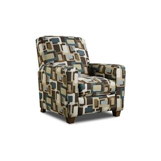 See Details - 2460 - Fusion Teal Recliner
