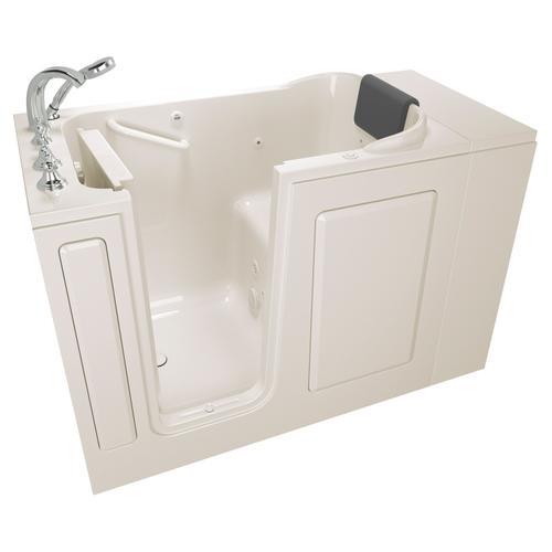 Premium Series 28x48 Whirlpool Walk-in Tub  Left Drain  American Standard - Linen