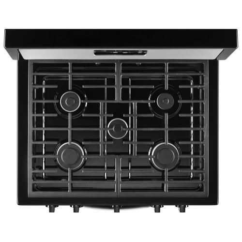 Whirlpool - Whirlpool® 5.1 Cu. Ft. Freestanding 5-Burner Gas Stove