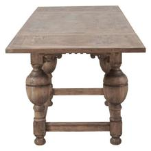 See Details - Farmhouse Draw Leaf Dining Table