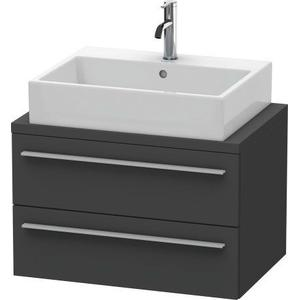 Vanity Unit For Console Compact, Graphite Matte (decor)