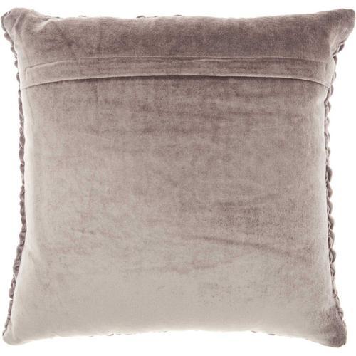 "Life Styles Sc001 Dark Grey 18"" X 18"" Throw Pillow"