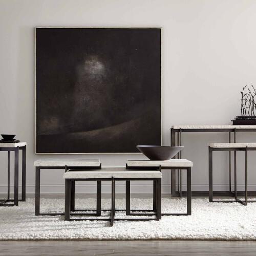 Bernhardt - Hathaway Metal Console Table