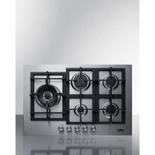 "30"" Wide 5-burner Gas Cooktop In Stainless Steel"