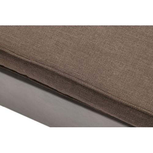 VIG Furniture - Renava Garza - Outdoor Concrete & Acacia 2 Seater Sofa