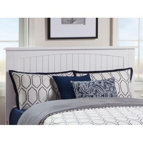 Atlantic Furniture - Nantucket Headboard Queen White