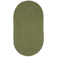 "Heathered Sage Green - Oval - 8"" x 28"""