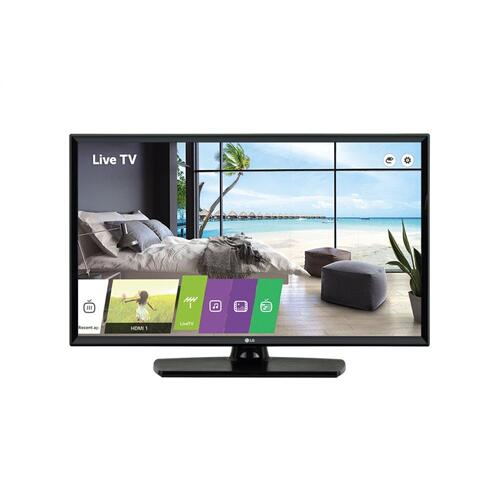 LG - 340 Series for Hospitality & Senior Living with standard features including Multi IR, Speaker Out and USB Picture Viewer