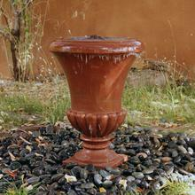 See Details - Sandstone Urn Sandstone / Terra Cotta