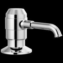 Chrome Soap/Lotion Dispenser w/Bottle