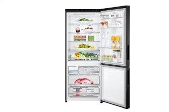28'' Counter Depth Bottom Freezer with Door Cooling+ and Flip-up Shelf, 15 cu.ft.
