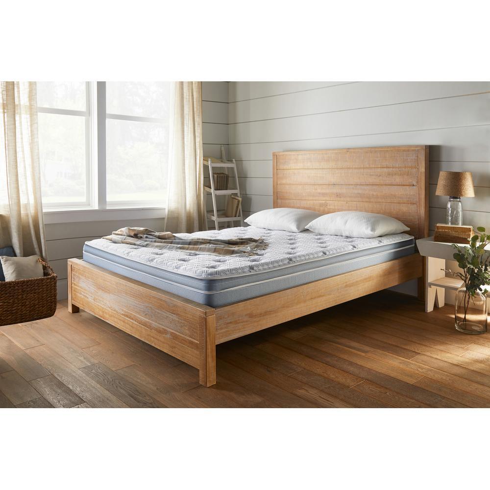 """See Details - American Bedding 11.5"""" Medium Pillow Top Mattress, Queen"""