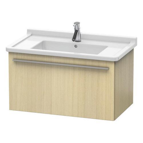 Product Image - Vanity Unit Wall-mounted, Mediterranean Oak (real Wood Veneer)
