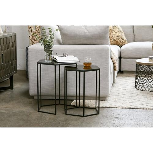 Polygon Accent Tables Set Of 2