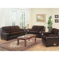 Monika Transitional Chocolate Sofa Product Image