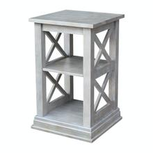 View Product - Hampton Accent Table in Taupe Gray