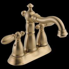 Champagne Bronze Two Handle Centerset Bathroom Faucet