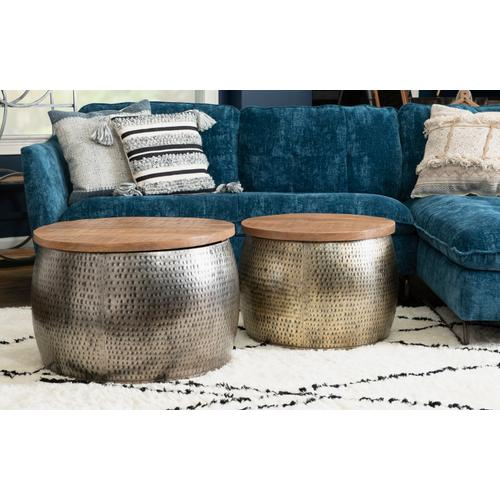 Powell Company - Dreyfus Gold Drum With Storage