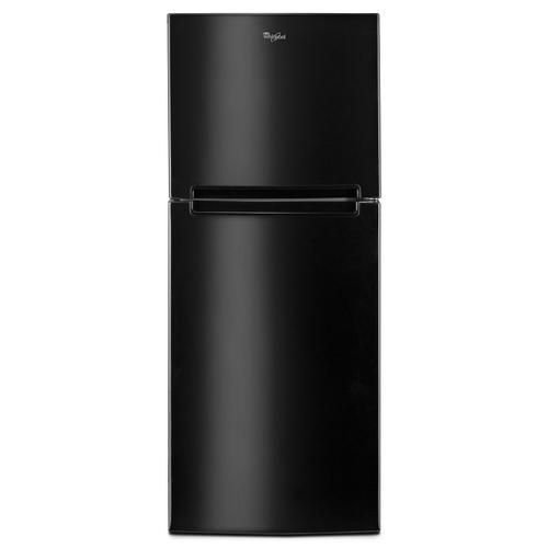 Gallery - 25-inch Wide Top Freezer Refrigerator - 11 cu. ft. Black